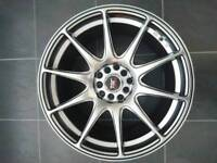 17 inch alloy wheels multifit euro and jdm