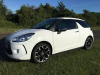 White limited edition sport citreon Ds3 1.6 petrol