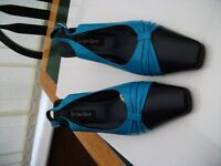 Jacques Vert , Nightsky Blue Sling Back, Size 39 (5.5/6) Excellent Condition