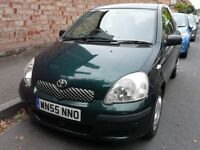 2005 Toyota Yaris 1.4 D-4D T3 3dr, with Mot, Tax just £30 per year