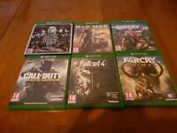 Xbox one games bundle for sale open to offers