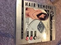 Salon Laser hair removal system. Boxed. Rio Brand. Boxed with DVD