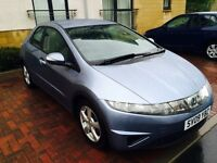 Honda Civic 1.8 petrol, new MOT, £ 2550