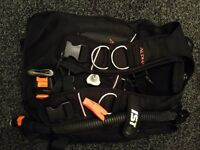 Scuba BCD IST Alpha flagship model size l-xl. Fantastic condition