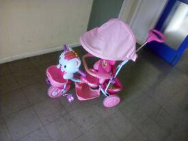 hello kitty pushbike for girls