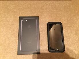 iPhone 7 Black 128gb Inc Tech 21 Evo Tactical Flexshock Case