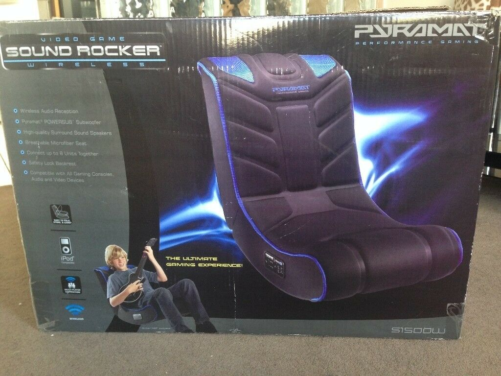Excellent Pyramat S1500W Gaming Chair Wireless Surround Sound In Plymouth Devon Gumtree Gamerscity Chair Design For Home Gamerscityorg