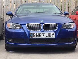 2007 57 BMW 330D COUPE BLUE AUTO Paddle Shift 335D 320D 325D