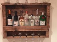 Wine/spirits rack