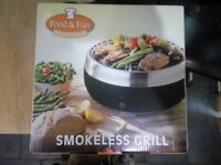 Grillerette Deluxe Smokeless Barbecue,