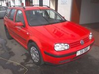 ***READY TO GO***2003 VOLKSWAGEN GOLF SDI ESTATE 1.9L DIESEL***1 OWNER***FULL SERVICE HISTORY***