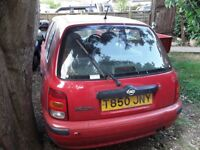 Nissan Micra spares or repairs