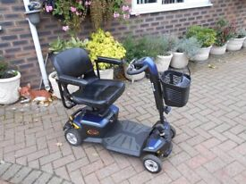 Pride heavy duty car boot mobility scooter