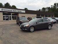 2011 Buick Regal CXL Turbo LEATHER, SUNROOF! FINANCE NOW