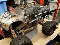 Hpi savage show truck. Need to sell. Price lowered. Offers incited