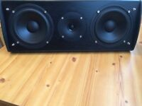 ELTAX HT-2 CENTRE SPEAKER 120 Watts, FULLY WORKING , LOUD CRYSTAL CLEAR SOUND, EXCELLENT CONDITION.