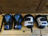 Masters Academy Boxing Gloves and Focus Pads