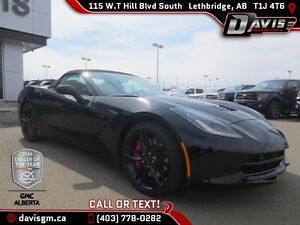 Used 2016 Chevrolet Corvette Convertible-Z51-Heated/Cooled Leath