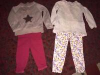 Baby girls clothes 12-18mnths