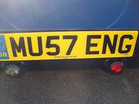 MU57 ENG Cherished registration