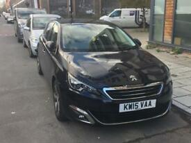 Peugeot 308 automatic new shape allure 1.2l petrol low Insurance