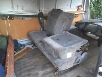 Van seats (removable and slides and fold)