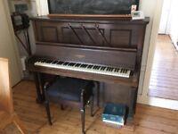 Conroy London Piano and Stool