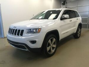2015 Jeep Grand Cherokee Limited- Leather Heated Seats, NAV