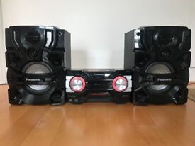 Panasonic Speakers - hardly used - high quality sound, very powerful with deep bass