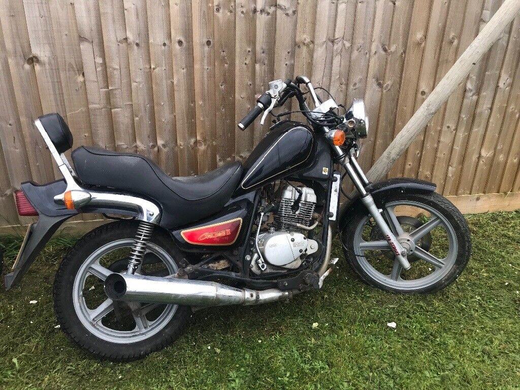 125cc chopper bike spares or repair