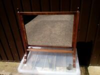 Old / Antique Swing Table Top / Dressing Table Mirror