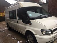 FORD TRANSIT 6 SEATER CREW VAN (Automatic)