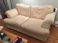 Sofa Cream 2 Seater