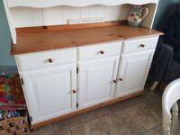 Painted cream Welsh Dresser