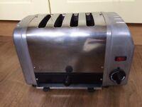 4 slice Dualit Chrome Toaster