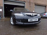 07 MAZDA 6 TS DIESEL,MOT FEB 018,1 OWNER FROM NEW,2 KEYS,FULL HISTORY,STUNNING CAR WITH LOW MILEAGE