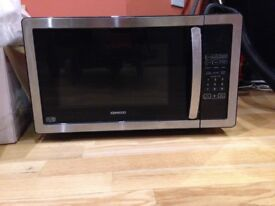 KENWOOD K25MSS11 Solo Microwave - Black & Stainless Steel - great condition