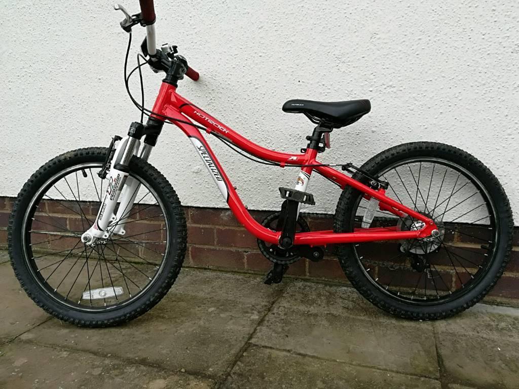 cec4fc229d8 Boys Specialized Hotrock 20 6 speed mountain bike age 5 to 8 | in ...