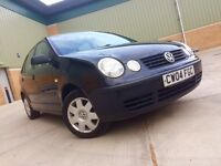2004 VW Polo 1.4 TDI Diesel Full Service History And Full Year MOT. Call 07723351409 Thanks.