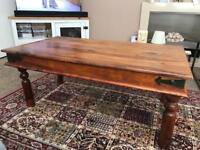 Lovely large coffee table