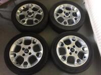Ford Fiesta Alloy Wheels 195/50/R15 Or £50.00 Each