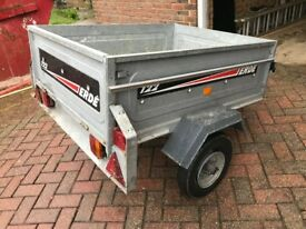 ERDE 122 Car Van Trailer - FANTASTIC TRAILER