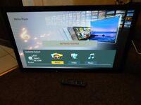 "Panasonic TX-P42X50B 42""plasma internet TV"