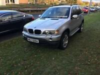 BMW X5 DIESEL LOW MILES 4X BRAND NEW TYRES