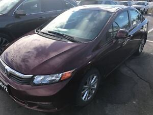 2012 Honda Civic LX  Sunroof! Low K's