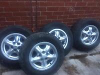 """4 x discovery 2 alloys 16"""""""