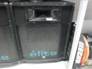 Yorkville Elite 401 Passive Loudspeakers. We Sell Used Musical Needs. 106497 CH630430