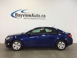 2013 Chevrolet CRUZE LS- 1.8L! AUTO! ON STAR! LOW KM'S!
