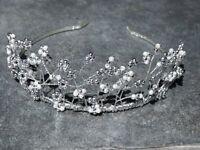 Beautiful Handmade Wedding Tiara / Headband - Stunning
