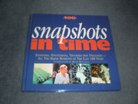 Snapshots in Time - 100 Years of Change - hardback, as new